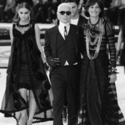 Palvin Barbi és Mihalik Enikő is hálás Lagerfeldnek