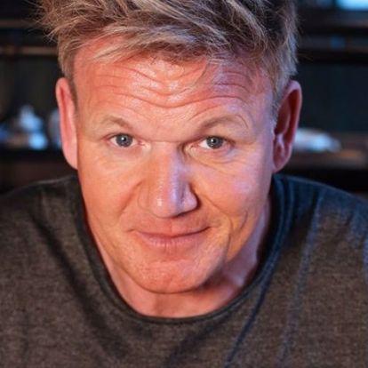 Gordon Ramsay saját nagyapjának maszkírozva ment el egy étterembe