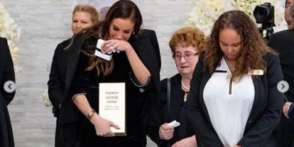 Újabb fotók: Andy Vajna amerikai temetése és a halotti tor a színfalak mögül - galéria