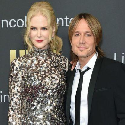 Nehéz eldönteni, hogy Nicole Kidman férje most vagy 25 éve volt retróbb?