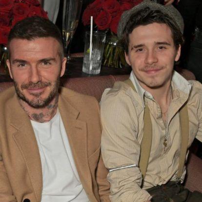 Úgy lett húszéves Brooklyn Beckham, hogy apja egy percet nem öregedett