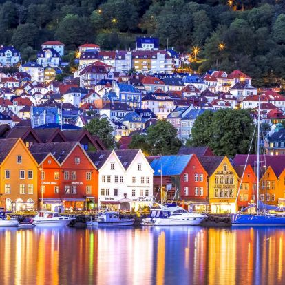 Norvég fjordok - Bergen és Stavanger felfedezése