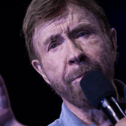 Így néz ki mostanában a 79 éves Chuck Norris