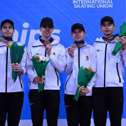 Világbajnoki bronzérmes a férfiváltónk