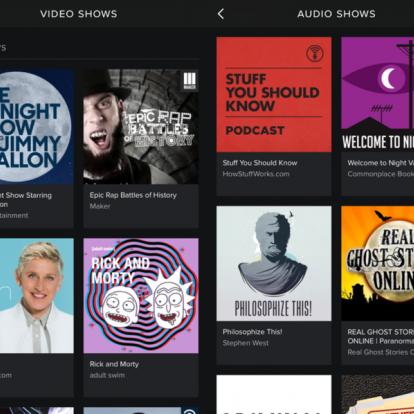 Podcast nagyhatalom lenne a Spotify
