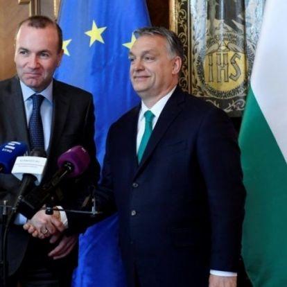 Saját helyzetét stabilizálná az Orbánnál vizitáló Weber?