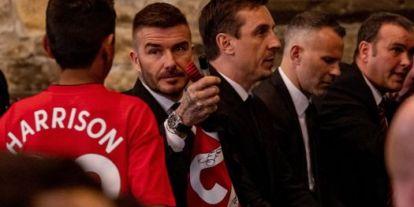 Csúnyán átverték Beckhamet - videó