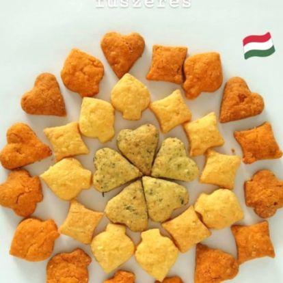 Hazafias sajtos és fűszeres kréker