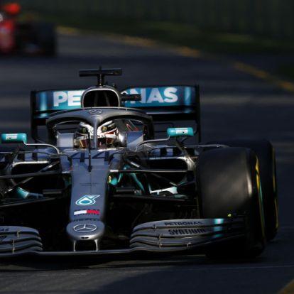 Vettel szerint Hamiltonnak elment a kedve, miután Bottas megelőzte
