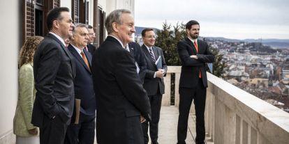 Amerikai törvényhozókkal tárgyalt Orbán Viktor