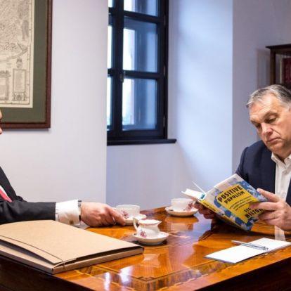 Orbánnál járt Lázár János és egy könyv