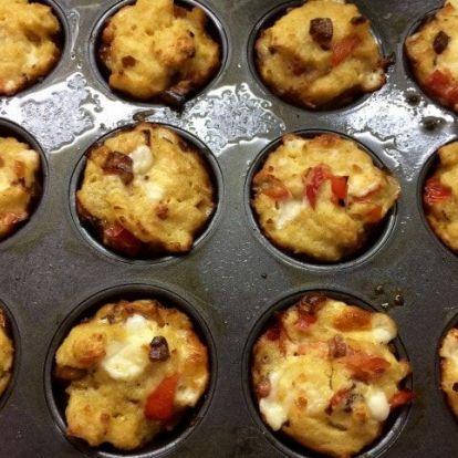Tojásos muffinok