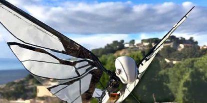 Itt a drón, amit simán össze lehet téveszteni egy madárral