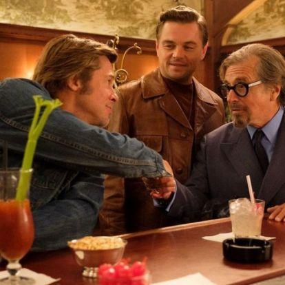 Megjött a Volt egyszer egy Hollywood első előzetese, Leonardo DiCaprióval és Brad Pittel!