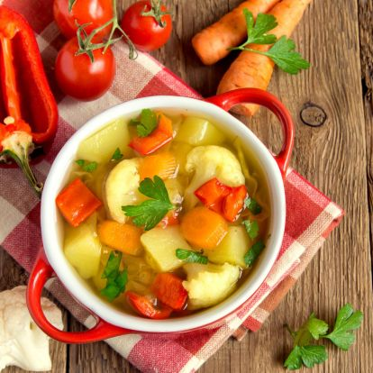 Zöldségleves villámgyorsan