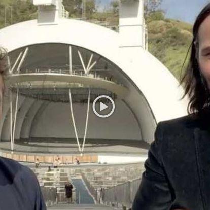 Oltári videóban jelentette be Keanu Reeves a Bill és Ted 3-at - Mafab.hu