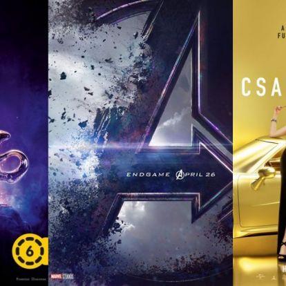 Legjobb filmek 2019 tavaszán: ezek miatt biztosan elmegyünk a moziba