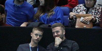 Nem hiszed el, kivel jött össze David Beckham 16 éves fia! - Fotók