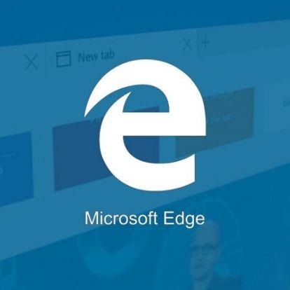 Viszlát csiga lassú Explorer, helló szupergyors Microsoft Edge