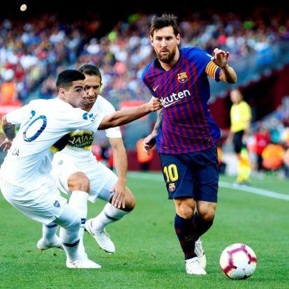Ronaldo és Messi egy csapatban?