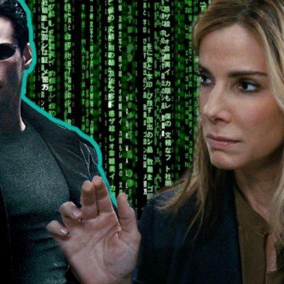 Sandra Bullock lehetett volna a Mátrix főszereplője! - Mafab.hu