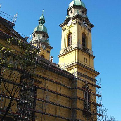 Megújul a józsefvárosi templom