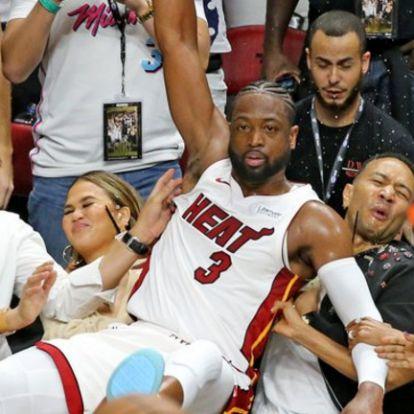 Festői pillanattal búcsúzott Miamitól Wade