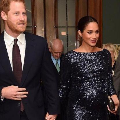 Harry herceg és Meghan Markle teljes titokban tartják a babájuk születését