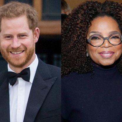 Közös sorozaton dolgozik Harry herceg és Oprah Winfrey
