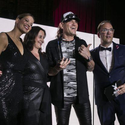 Lukács Lászlót is díjazta a Playboy