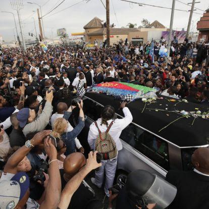 A lelőtt amerikai rapper temetésén is megöltek egy embert