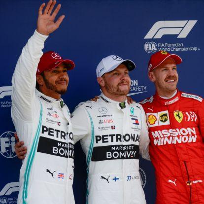 F1: Bottas szerint ennyi is elég volt