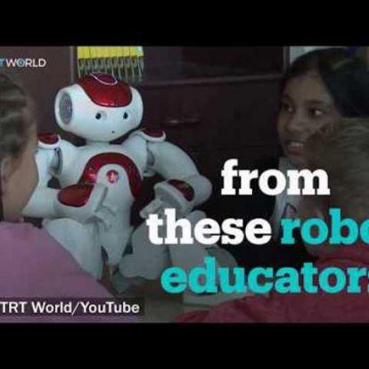 Nyelvoktató robot, óvodai robot - a jó példák