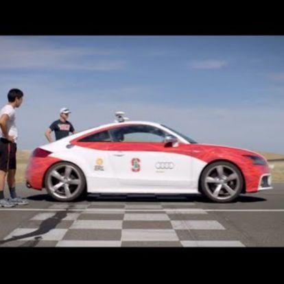 Az önvezető sportkocsinak testvére a raktáros robot?