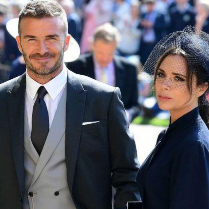 David Beckham levideózta, ahogy felesége 10 kg naranccsal szerencsétlenkedik