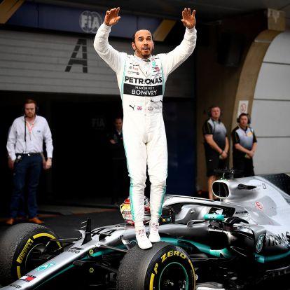 Hamilton nyert, Vettel dobogóra állhatott, de csak a csapatutasításnak köszönhetően