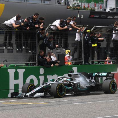 Hamilton nyerte az ezredik F1-es futamot