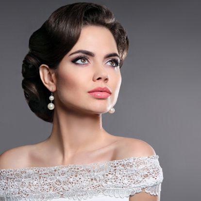 2 elképesztően nőies frizura vintage esküvői ruhához: hollywoodi filmsztárok ihlették