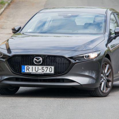 Még mindig működik a recept - Teszt: Mazda 3 G122 Plus - 2019.