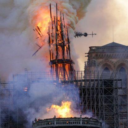 A celebek Instagramon sajnálják a leégett Notre-Dame-ot