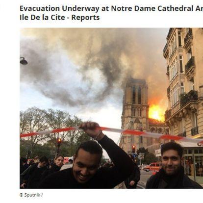Tényleg az égő Notre-Dame előtt örvendeztek a muszlimok?