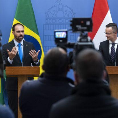 Szijjártó hamar megtalálta a közös hangot a brazil elnök fiával: Soros