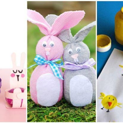 Zokninyuszi és társai: 5 kreatív húsvéti ötlet, amit a gyerkőcökkel közösen készíthettek el