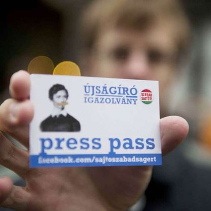 14 helyet zuhant Magyarország a sajtószabadság-listán