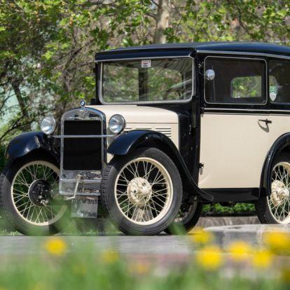 Minden BMW-k ősatyja - Veterán: BMW 3/15 DA-2 – 1931. Meg a közelgő Balatonfüred Concours d'Élegance