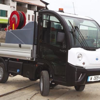 Közösen fejlesztenek elektromos kisteherautókat