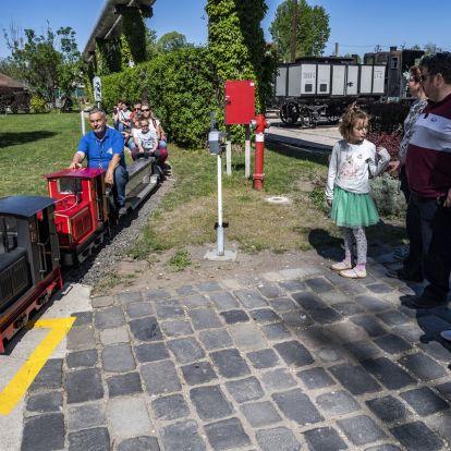 Húsvéti szezonnyitó a vasúttörténeti parkban