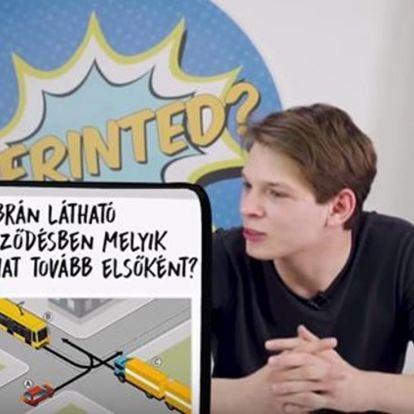 Tanulságos videó: YouTuberek vizsgáztak újra autóvezetésből, KRESZ-ből