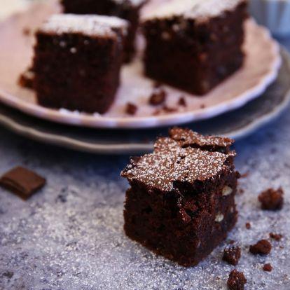 Egyszerű kevert brownie