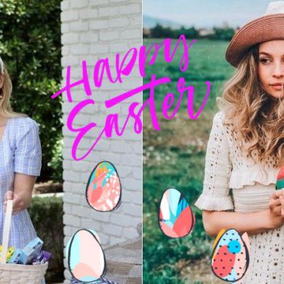 Így ünnepelték a húsvétot a sztárok idén